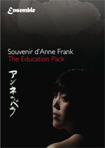 Souvenir d'Anne Frank Education Pack cover